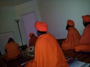 Acaryas in Meditation